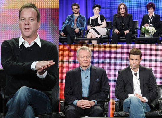 Photos of Casts from 24, Dollhouse, House, the Osbournes and American Idol at Fox TV Winter TCA Panels