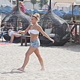 Pictures of Kerry Katona in a Bikini