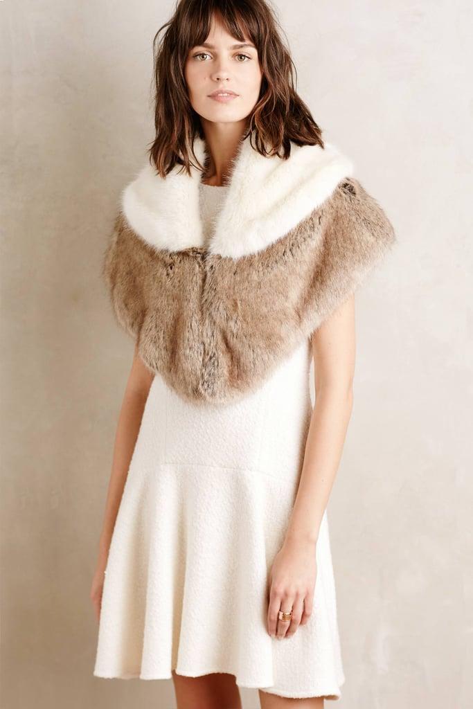 Helen Moore Ava Faux-Fur Capelet ($198)