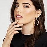 BaubleBar Ring Hoop Earrings