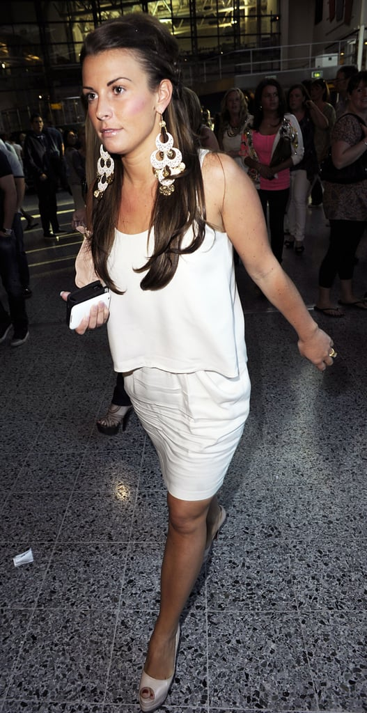 Pictures of Coleen Rooney at Black Eyed Peas Concert