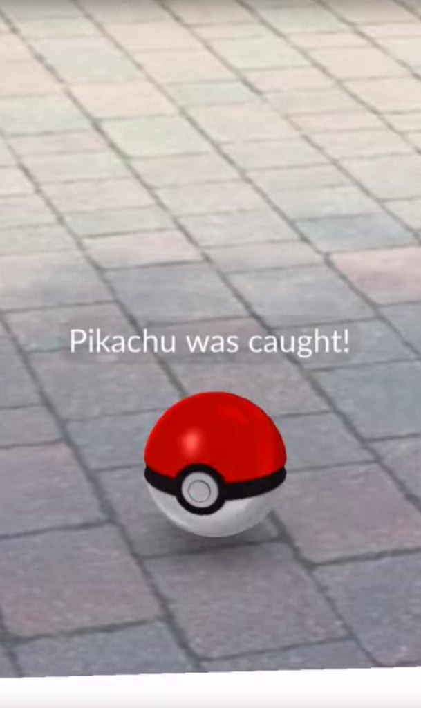How to start pokemon go with pikachu popsugar australia tech for What s in a melon ball drink