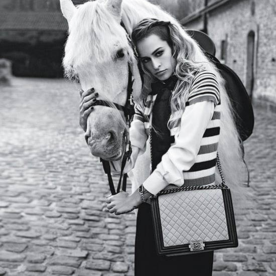 Alice Dellal Saddles Up For This Season's Chanel Boy Bag Campaign