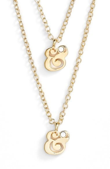 Ampersand Necklaces