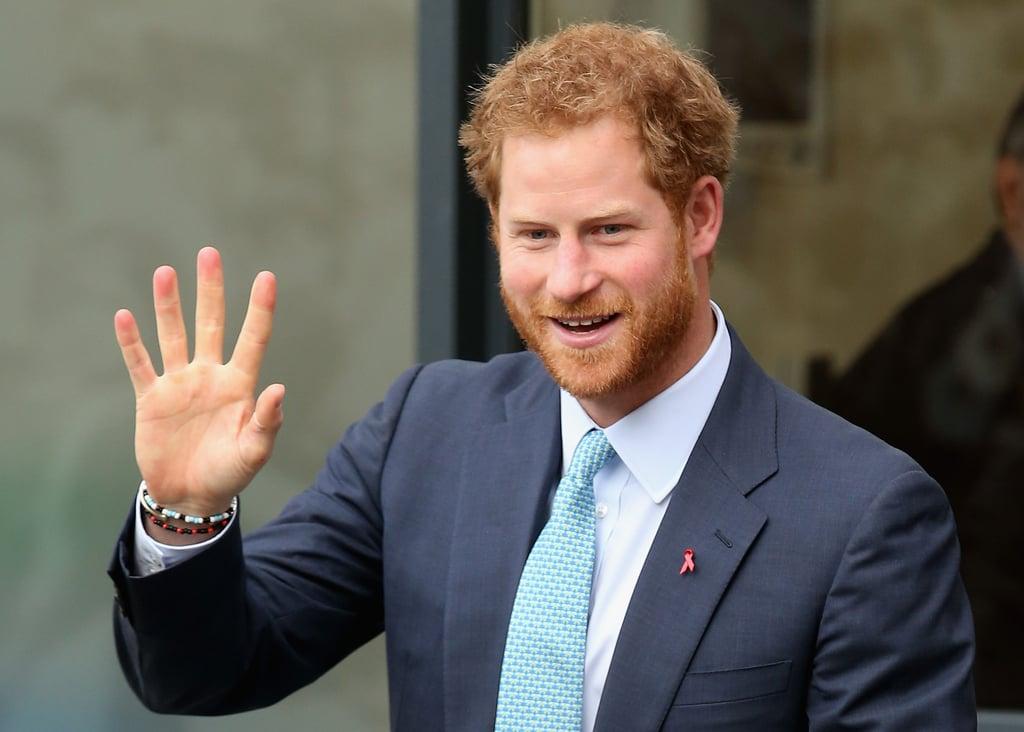 Prince Harry Talks Princess Diana December 2015