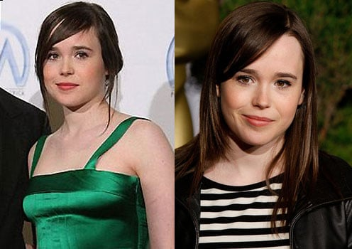 Which Pre-Oscar Event Hairstyle Do You Prefer on Ellen Page?