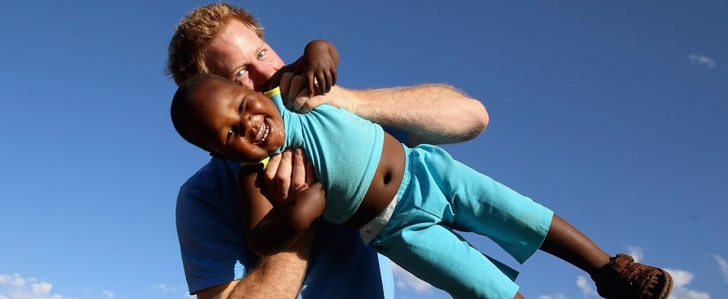 38 Times Prince Harry Was Out-of-Control Cute With Kids