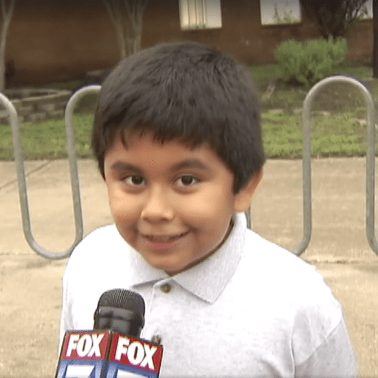 Boy's Excited Interview About First Day of School