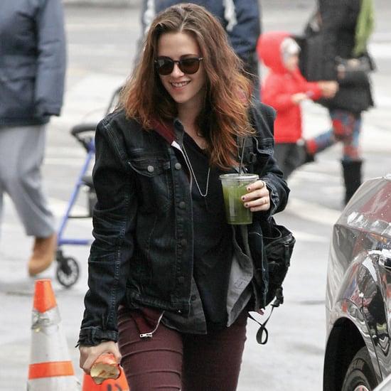 Kristen Stewart Filming Still Alice in NYC