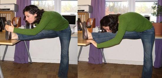 Work It Girl: Hamstring Stretch