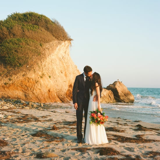Boho Beachside Wedding