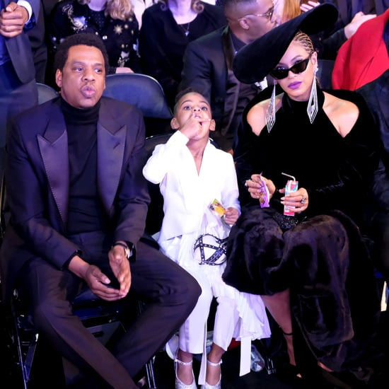 Beyonce Holding Blue Ivy's Juice Box at the Grammys
