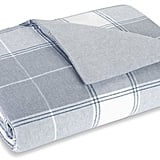 Flannel Luxe Box Plaid Duvet Set