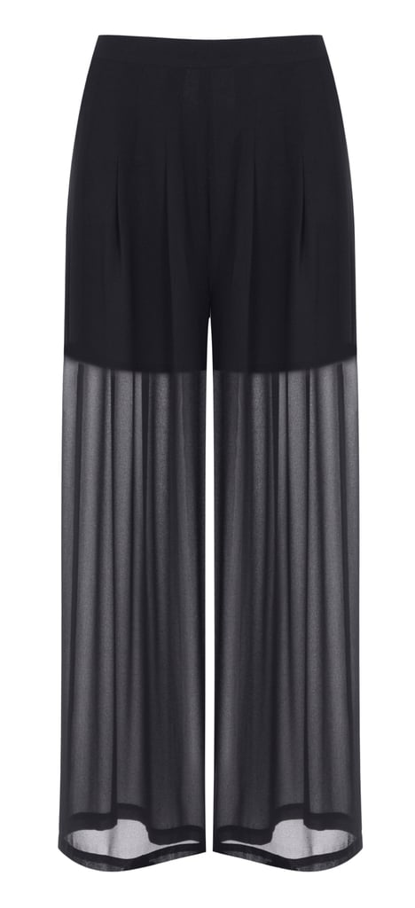 Kendall + Kylie Wide Leg Palazzo Trousers