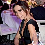 Victoria Beckham's Black Dress at Global Gift Gala 2018