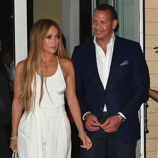 Jennifer Lopez All White Outfit July 2017