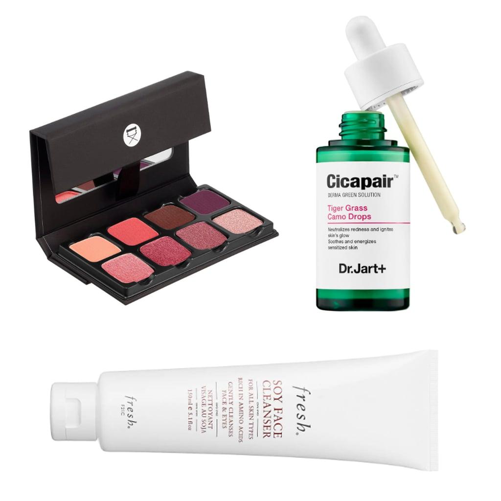 $30-$50 Range: Viseart Petit 2 Pro Palette, Dr. Jart Cicapair Tiger Grass Camo Drops, or Fresh Soy Face Cleanser