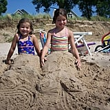 As sand mermaids