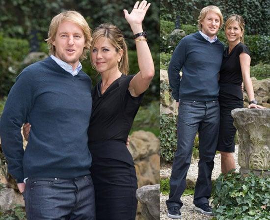 Jennifer and Owen in Rome