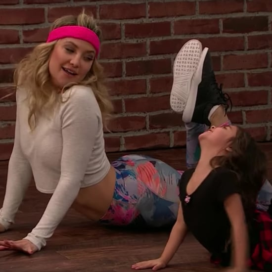 Kate Hudson Toddlerography With James Corden Video