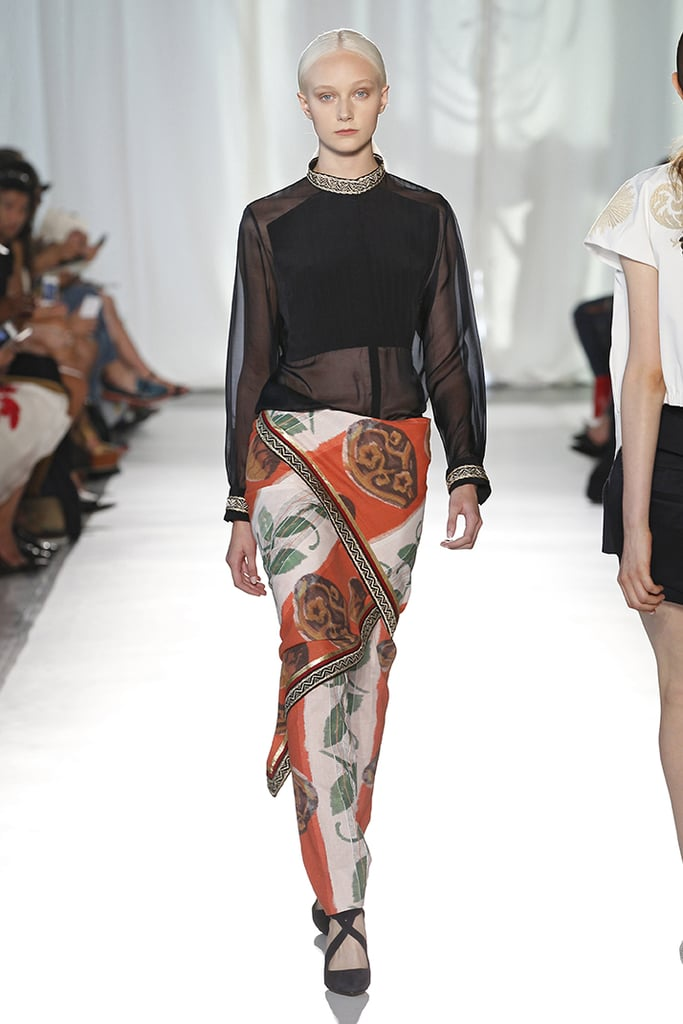 2014 Spring New York Fashion Week Runway Sass and Bide ...