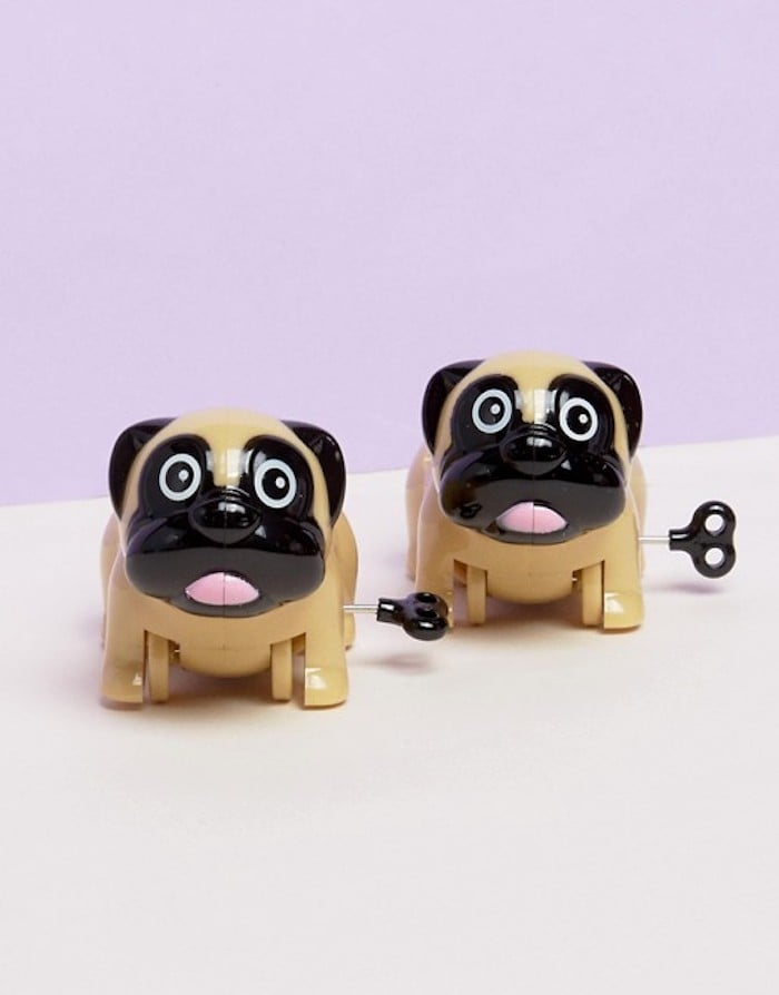 Thumbs Up Wind Up Pugs Racing Game