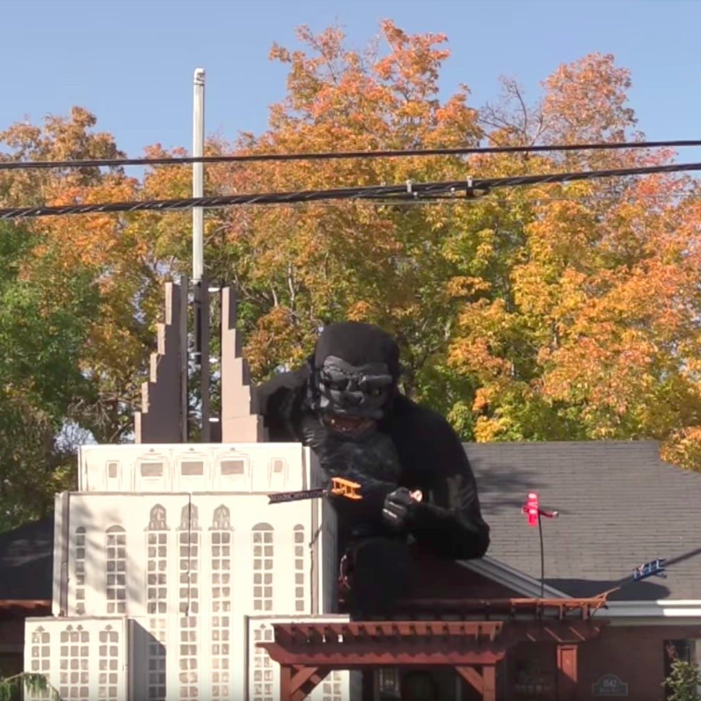 blow up halloween decorations uk by king kong halloween decorations popsugar home australia
