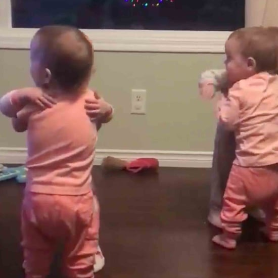 Video of Quadruplets Hugging Each Other
