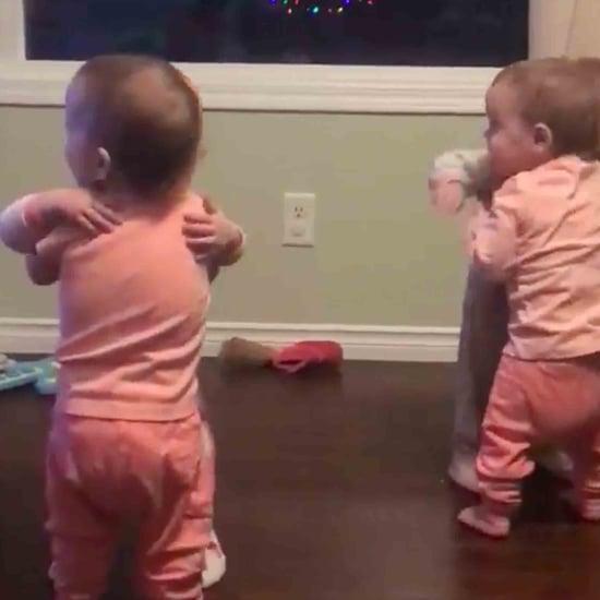 Video of Quadruplets Hugging Each Other
