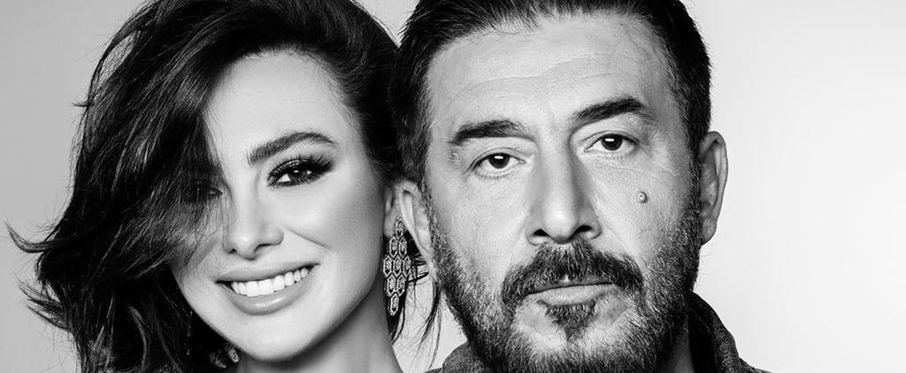 ستيفاني صليبا بطلة مسلسل الساحر إلى جانب عابد فهد 2020