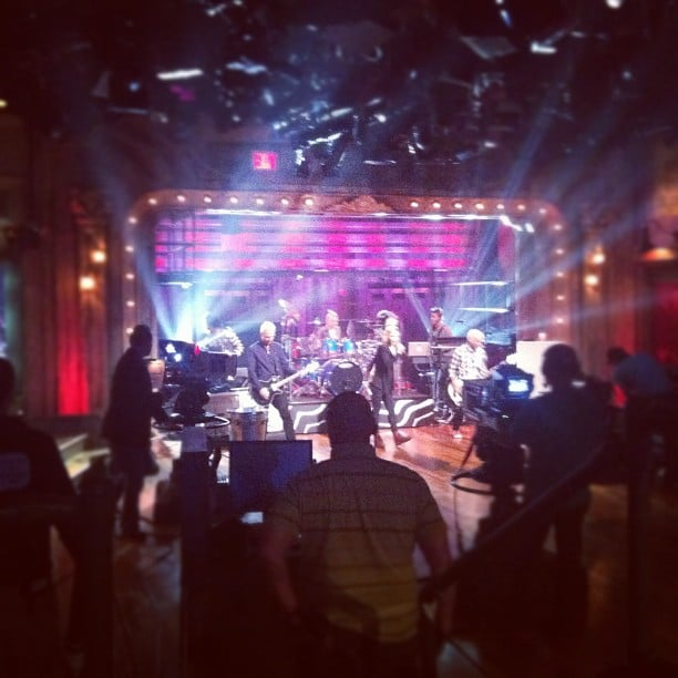 No Doubt performed on Late Night With Jimmy Fallon. Source: Instagram user latenightjimmy