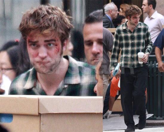 Photos of Robert Pattinson on Set