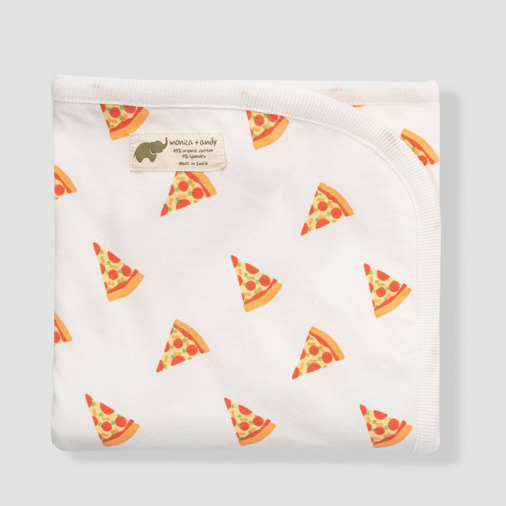 Slice of Something Special: Pizza Day Coming Home Swaddle Blanket