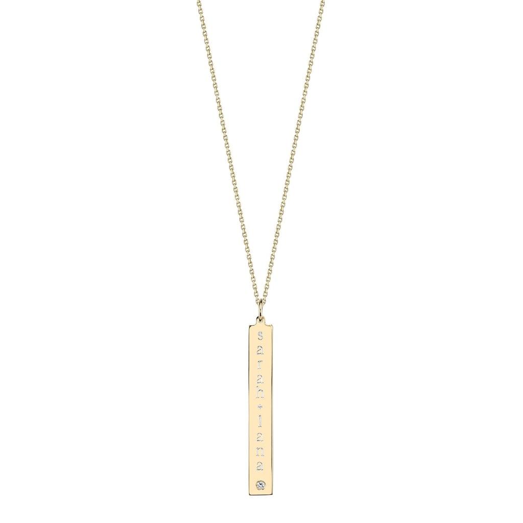 Sarah Chloe Pendant with Diamond Accent ($178)