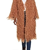 Moon River Shaggy Car Coat
