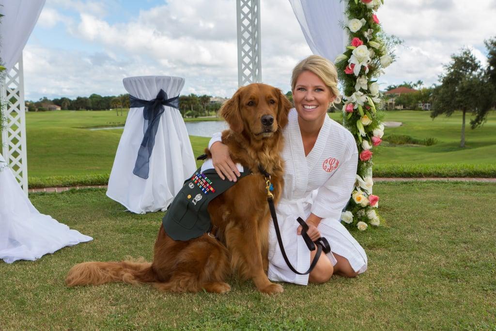 Dog Is Best Man At Wedding Popsugar Pets