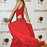 Karolina Kurkova is a vision in red — amazing!