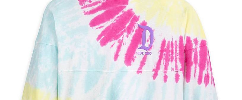 These Tie-Dye Disney Spirit Jerseys Just Scream Happiness