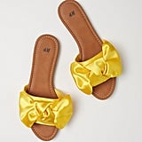 H&M Sandals With Bow