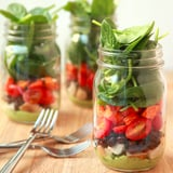 Mason Jar Taco Salad Recipe