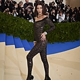 Bella Hadid at the 2017 Met Gala