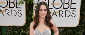 How to Copy Emilia Clarke's Romantic Beauty Look at the Globes