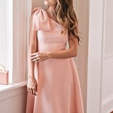 Gal Meets Glam Collection Yvonne Dream Crepe One-Shoulder Dress |