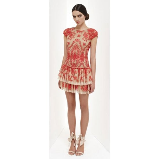 A Lace Party Frock