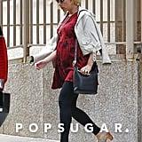 Pregnant Scarlett Johansson in NYC