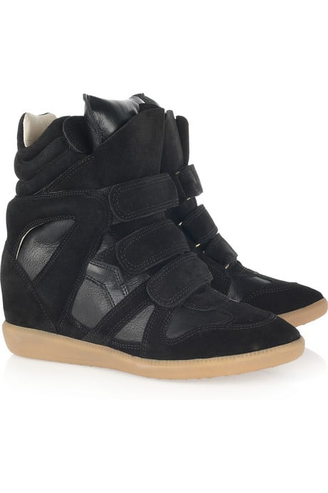 Isabel Marant High-Top Sneakers ($725)