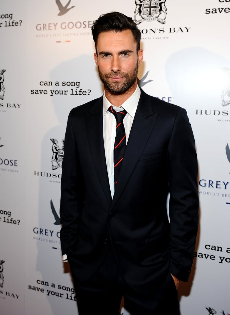 Adam Levine is People magazine's Sexiest Man of 2013.