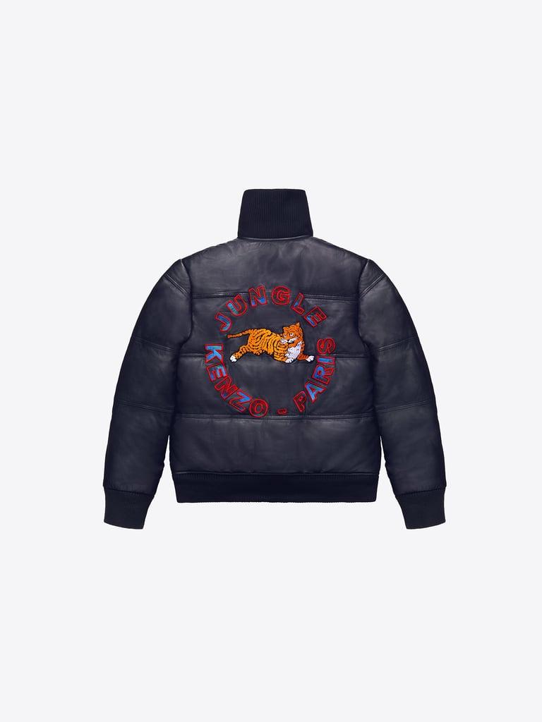 Padded Leather Jacket ($399)