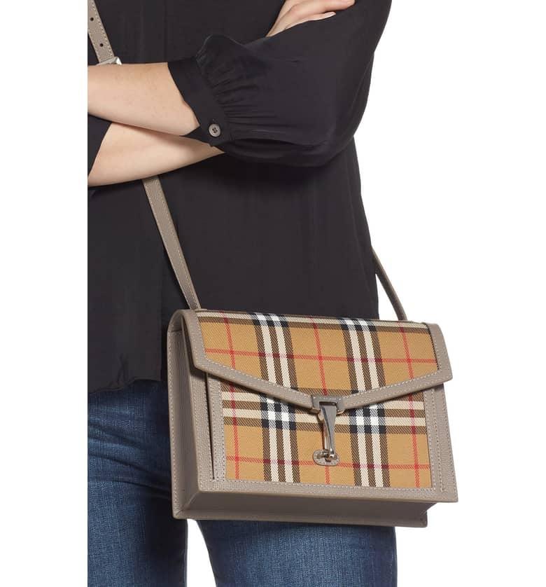 b9cb07194 Burberry Small Macken Vintage Check Crossbody Bag | Best Crossbody ...