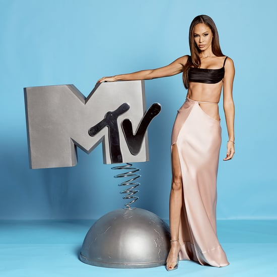 Joan Smalls Wears Brandon Maxwell Look to the 2019 MTV EMAs